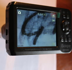 Microscopio portatile IR i-Scope